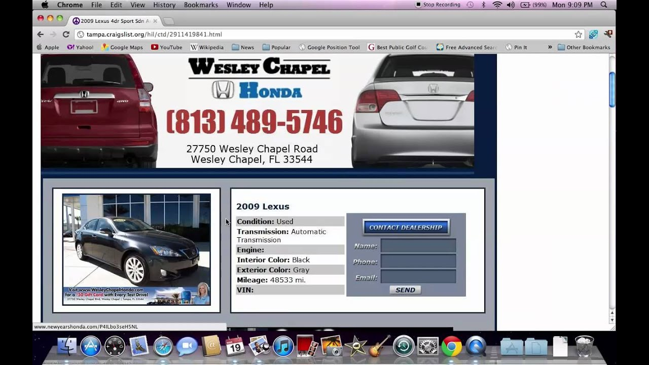 Craigslist Tampa Fl Cars Used Trucks And Vans Available