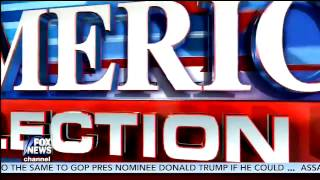 Fox News America's Election HQ 2016 Intro