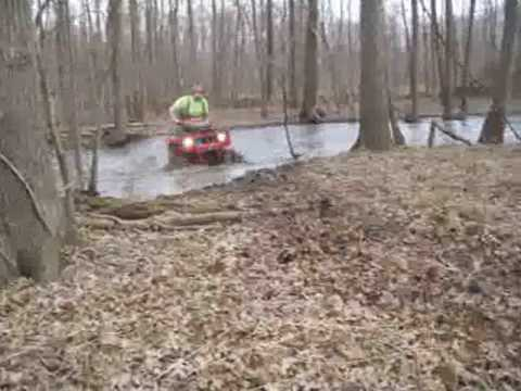 - Southern Illinois ATV Mud and Water riding 3-7-2010