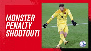MENTAL PENALTY SHOOT OUT 😱| AFC Bournemouth 11-10 Crystal Palace