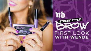 Wende Reveals the Street Style Brow Collection   NEW from Urban Decay