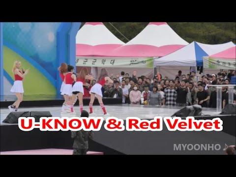 [윤호FANCAM]軍フェス☆ユノ Red Velvet & YUNHO 161002