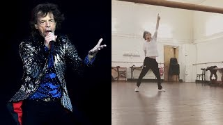 Mick Jagger Shows Off Dance Moves Just Months After Heart Surgery