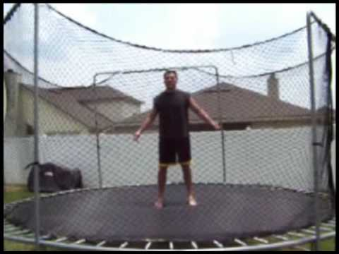 How To Do A Back Flip On A Trampoline Backflip Lesson