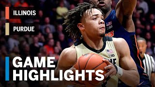 Highlights: Carsen Edwards Drops 23 in a Win | Illinois vs. Purdue | Feb. 27, 2019