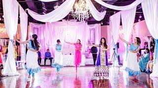 Ria & Saifur's Engagement   Choreographed Bollywood Dance Performances