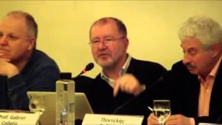 Ομιλία Gabriel Colletis στην εκδήλωση του ΙΓΜΕΑ