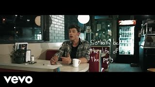 Shawn Mendes - Life Of The Party (Lyric Video)