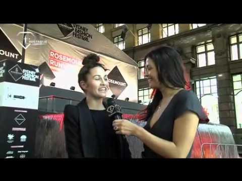 Vanessa for Fashion TV