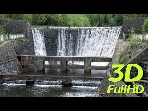 [3D] Dam / Zapora, Czernianskie Lake / Jezioro Czerniańskie, Wisła, Poland / Polska