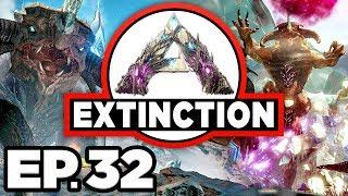 ARK: Extinction Ep.32 - APEX T-REX & GIGA DINOSAURS, DAEODON TAME? (Modded Dinosaurs Gameplay)