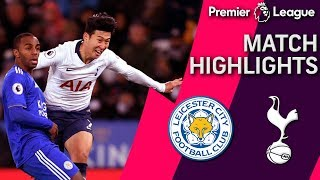 Leicester City v. Tottenham | PREMIER LEAGUE MATCH HIGHLIGHTS | 12/8/18 | NBC Sports