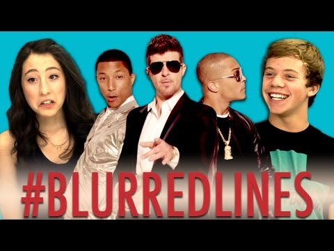Baixar Teens React to Robin Thicke - Blurred Lines