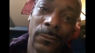 Snoop Dogg Breaks Down Starts Crying After Trump Mistakes NFL Knee For Patriotism