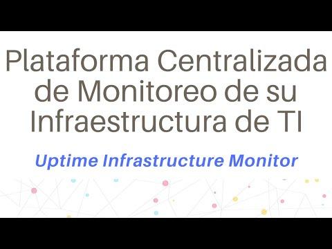 Plataforma Centralizada de Monitoreo de su Infraestructura de TI