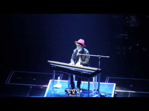 [FANCAM/찍캠] 140809 JYPNation ONE MIC - Moves Like Jagger (Youngjae Focus)