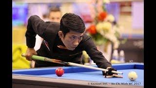 Duong Anh Vu vs Ngo Dinh Nai, Billiards Carom 3 Cushion, CLUB ROME 2017