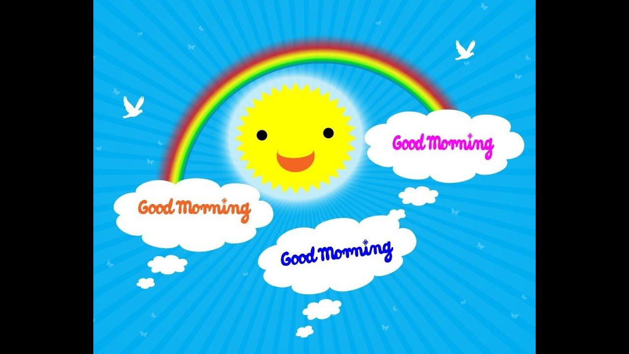 Good Morning Song for Children - YouTube