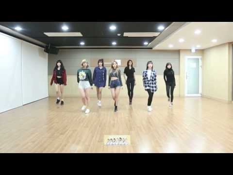 AOA - Excuse Me Dance Practice (Mirrored)