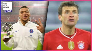 Mbappé passes Messi, Müller's crazy behavior, bad news for Neymar | The news of the day