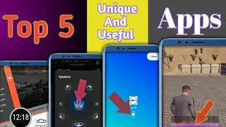Top 5 Unique And Most Useful Android Apps Available On Playstore 🔥