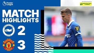 Brighton & Hove Albion 2 Manchester United 3