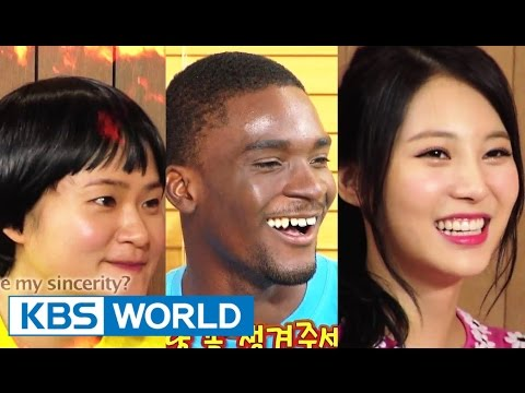 Happy Together - Hot People Special with Yura of Girl's Day, Sam Okyere & more! (2014.09.11)