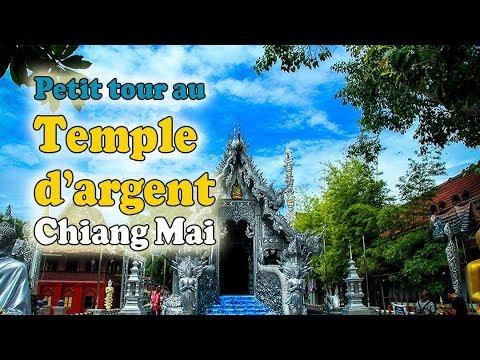 petit tour au temple d'argent de chiang mai