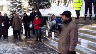 LIBERTATE LUI DRĂNICERU! – Protest la Procuratura Generală