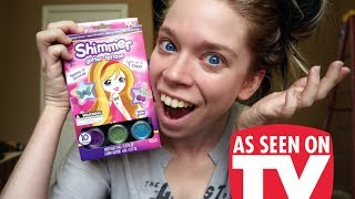 SHIMMER GLITTER TATTOOS- DOES THIS THING REALLY WORK?