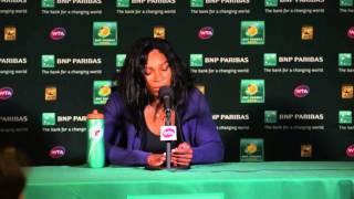 Serena Williams QF Press Conference