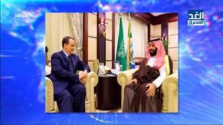 ولي العهد السعودي الأمير محمد بن سلمان بن عبد العزيز، يبحث مع quotولد ...