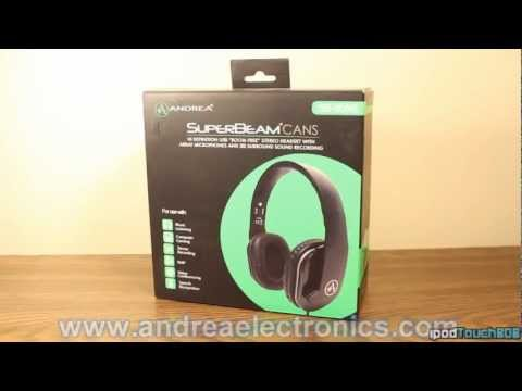 Andrea Electronics SB-805 Headset Review