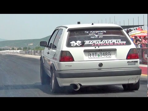 GOLF II VR6 Turbo 10.124 @ 222.08Km/h by BRUTAL PERFORMANCE | Autokinisimag