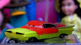 Color Changers Ramone from Disney colour changing cars shifters Mattel review