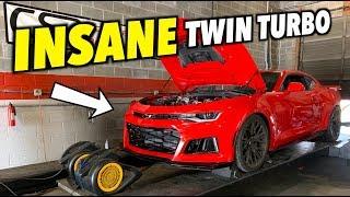 The TWIN TURBO Camaro ZL1 Makes INSANE POWER!!!