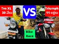 Street Race Tvs Xl vs Triumph Street Triple