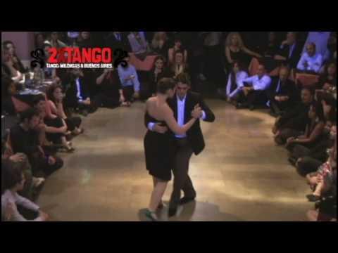 Fernando Sanchez  y Ariadna Naveira Tango Argentino en Porteño y Bailarin Ago 09