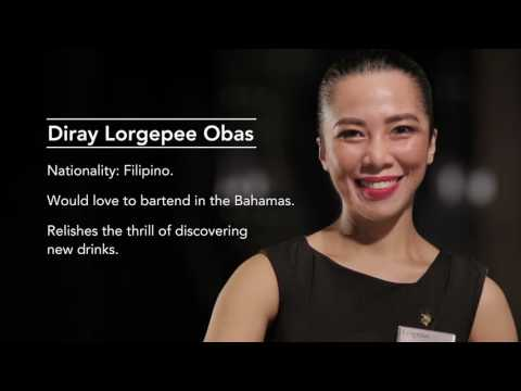 Best Bartender cocktail at 38 Lounge by Diray Lorgepee Obas