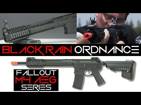 Black Rain Ordnance Airsoft M4 FALLOUT Series Overview | Fully Licensed! | AirsoftGI.com