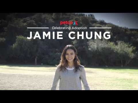 "Petco today released a new video in their ""Think Adoption First"" video series starring actress and pet parent Jamie Chung."