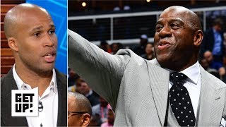Magic Johnson resigning was the Lakers' biggest step forward - Richard Jefferson   Get Up!