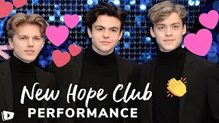 New Hope Club live at VidCon London!