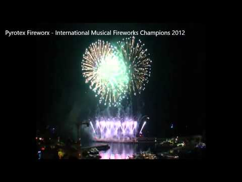 Pyrotex Fireworx -  Monaco International Musical Fireworks Champions 2012