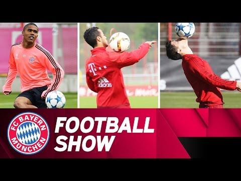 Левандовски ПРОТИВ Тиаго ПРОТИВ Даглас Коста: Фудбалско надигрување на тренинг на Баерн Минхен