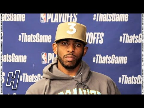 Chris Paul Postgame Interview - Game 3 - Suns vs Lakers | 2021 NBA Playoffs