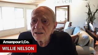 """Legendary Musician Willie Nelson on His """"Letters to America""""   Amanpour and Company"""
