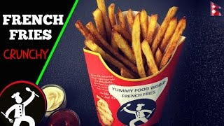 French Fries Recipe | How to make Homemade Crispy French Fries | Yummy Food World 🍴74