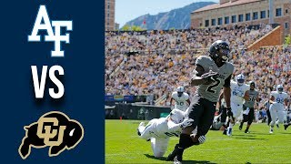 Week 3 2019 Air Force vs Colorado Full Game Highlights 9/14/2019