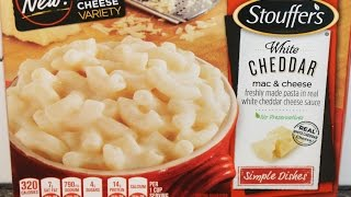 Stouffer's White Cheddar Mac & Cheese Review